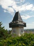 Graz - Uhrturm Royalty-vrije Stock Foto's