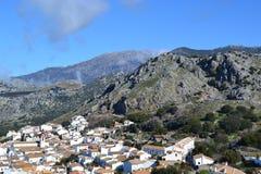 Grazalema berg, Spanien Royaltyfria Foton
