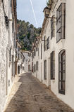 Grazalema street Royalty Free Stock Photography