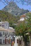 Grazalema, villaggio bianco di Andalusia Fotografia Stock