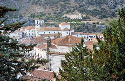 Grazalema, White Towns, Cadiz province, Spain Royalty Free Stock Photo