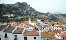 Grazalema, White Towns, Cadiz province, Spain Royalty Free Stock Images