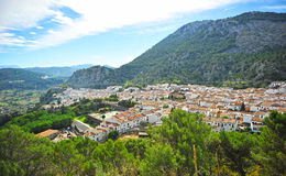 Grazalema, White Towns, Cadiz province, Spain Royalty Free Stock Photos