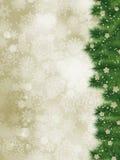 Grazie cardare su una cartolina di Natale elegante. ENV 8 Fotografia Stock Libera da Diritti