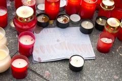 Grazie Mr.President - tributo al V. Havel Immagini Stock Libere da Diritti