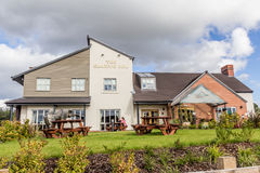 The Grazing Cow Public House. An image of the Grazing Cow Public House in Telford, Shropshire. It is also a restaurant Royalty Free Stock Images