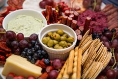 Grazing Platter Royalty Free Stock Images