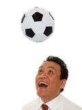 Grazy at soccer Stock Photos