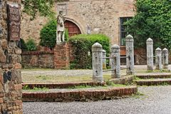 Free Grazzano Visconti, A Medieval Village In Northern Italy Royalty Free Stock Images - 147221519