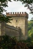 Grazzano Visconti. Ancient village of Grazzano Visconty, Emilia Romagna, Italy Stock Photography