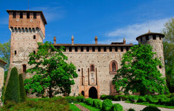 Grazzano visconti castle Stock Image