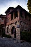 Tourist destination in northern Italy, Grazzano Visconti Stock Images