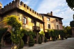Tourist destination in northern Italy, Grazzano Visconti Stock Photos