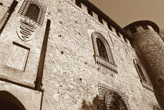 Grazzano visconti Royalty Free Stock Images
