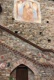 Grazzano Visconti, un villaggio medievale in Italia del Nord immagini stock