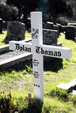 Grób Dylan Thomas Obraz Stock