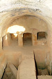 Gräber der Könige - Beerdigungsnischen. Stockfotografie