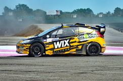 Grc 041. Louisville, Kentucky – May 20, 2017: Alex Keyes races at the Red Bull Global Rallycross in Louisville, Kentucky, on May 20, 2017 stock photo