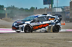 Grc 032. Louisville, Kentucky – May 20, 2017: Connor Martell races at the Red Bull Global Rallycross in Louisville, Kentucky, on May 20, 2017 stock photo