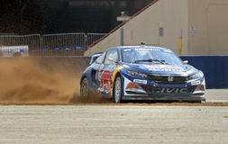 Grc 005. Louisville, Kentucky – May 20, 2017: Oliver Eriksson races at the Red Bull Global Rallycross in Louisville, Kentucky, on May 20, 2017 stock images