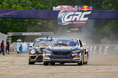 Grc 250. Louisville, Kentucky – May 21, 2017: Sebastian Eriksson leading the field at the Red Bull GRC in Louisville, Kentucky, on May 21, 2017 stock photo