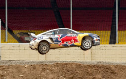 Grc 251. Louisville, Kentucky – May 21, 2017:  Sebastian Eriksson takes a jump at the Red Bull GRC in Louisville, Kentucky, on May 21, 2017 Royalty Free Stock Image
