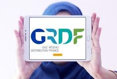 GRDF gazu dystrybuci firmy logo Obraz Royalty Free