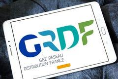 GRDF gazu dystrybuci firmy logo Zdjęcia Royalty Free