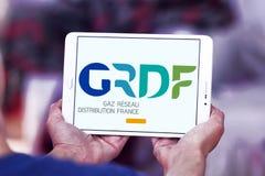 GRDF gazu dystrybuci firmy logo Fotografia Royalty Free