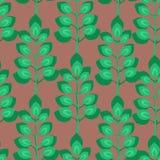 grean картина листьев Стоковое Изображение