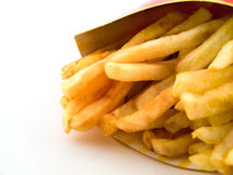 Greasy French Fries Royalty Free Stock Photos