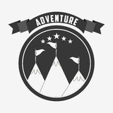 great adventure design Royalty Free Stock Photos