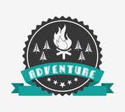 great adventure design Royalty Free Stock Image