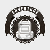 great adventure design Royalty Free Stock Images