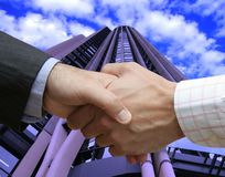 Great agreement Royalty Free Stock Photo