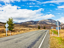 Great Alpine highway Stock Images
