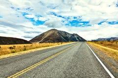 Great Alpine highway Stock Image