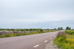 The Great Alvar on Baltic sea island Oland Stock Photo