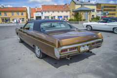 Great amcar, 1971 plymouth sport fury Stock Photo
