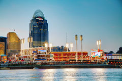 Great American Ball Park stadium in Cincinnati Royalty Free Stock Images