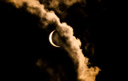 Great American Total Solar Eclipse of the sun Royalty Free Stock Images