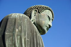 The Great Amida Buddha of Kamakura (Daibutsu) in the Kotoku-in Temple Stock Photo