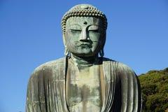 The Great Amida Buddha of Kamakura (Daibutsu) in the Kotoku-in Temple Royalty Free Stock Photo