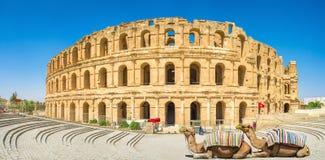 The great amphitheatre Stock Photo