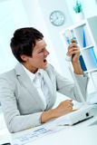 Great anger Royalty Free Stock Photography