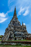 Great Antique Pagoda. In Ayutthaya Historical Park,Thailand.Public place Stock Images