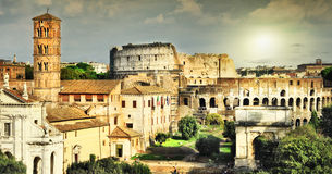 Great antique Rome royalty free stock image