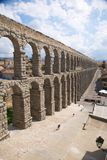 Great aqueduct of segovia city Royalty Free Stock Photography