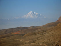 Great Ararat  Mountain Royalty Free Stock Photography