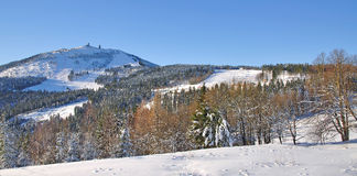 Great Arber Mountain,Bavarian Forest,Germany Royalty Free Stock Photography